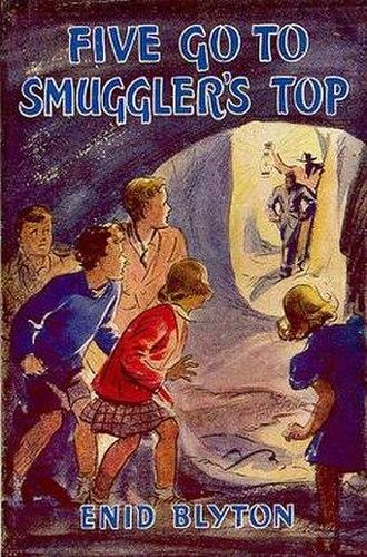 Five Go to Smuggler's Top - Original 1945 first edition cover