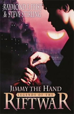 Jimmy the Hand (novel) - Image: Feist & Stirling Jimmy the Hand Coverart