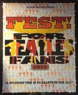 The Fest for Beatles Fans - Image: Fest For Beatles Fans 2015