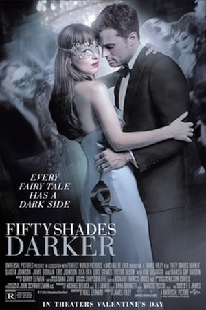 Fifty Shades Darker (film) - Theatrical release poster