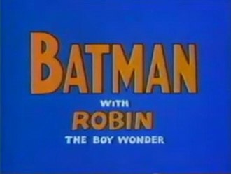 The Adventures of Batman - Title card from The Batman/Superman Hour