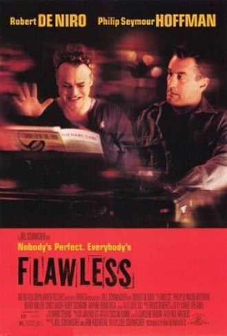Flawless (1999 film) - Theatrical release poster