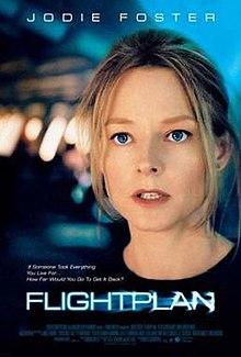 Flightplan (2005) [English] SL DM -  Jodie Foster, Peter Sarsgaard, Erika Christensen, Kate Beahan, Greta Scacchi, and Sean Bean