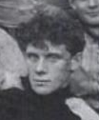 Frank E. Hering - Hering as Notre Dames's coach and captain in 1896