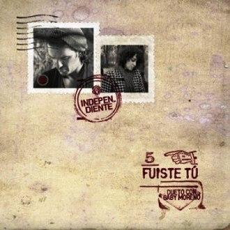 Fuiste Tú - Image: Fuiste Tu Arjona cover