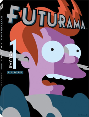 Futurama (season 1) - Image: Futurama Volume 1