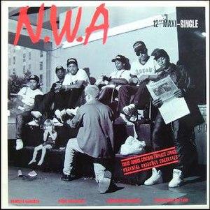 Gangsta Gangsta (N.W.A song) - Image: Gangsta Gangsta