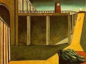 Gare Montparnasse (The Melancholy of Departure) - Image: Gare Montparnasse (The Melancholy of Departure) by Giorgio de Chirico