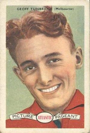 Geoff Tunbridge - Tunbridge in 1958