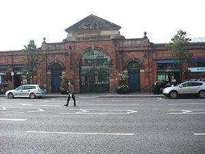 St George's Market - Entrance to St George's Market, September 2009