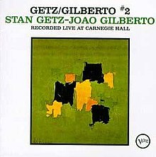 Getz, Gilberto Vol. 2 album cover.jpg