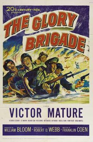 The Glory Brigade - Original film poster