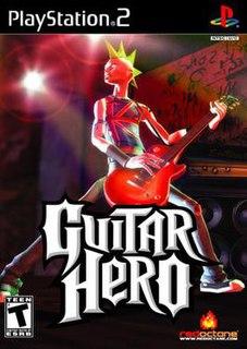 <i>Guitar Hero</i> (video game) video game