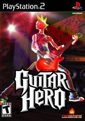 Guitar Hero (video game) - Image: Guitarhero cover