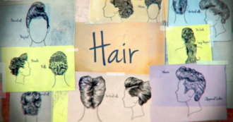 Hair (TV series) - Opening title card for 2014 series