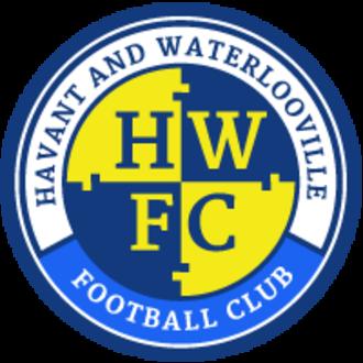 Havant & Waterlooville F.C. - Image: Havant and waterlooville logo