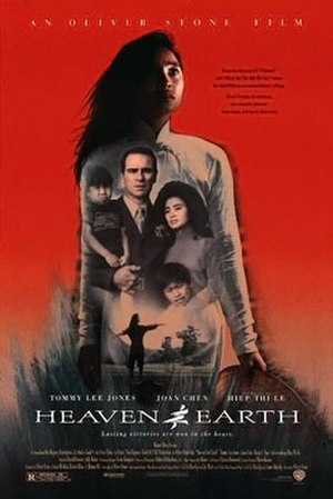 Heaven & Earth (1993 film) - Theatrical release poster