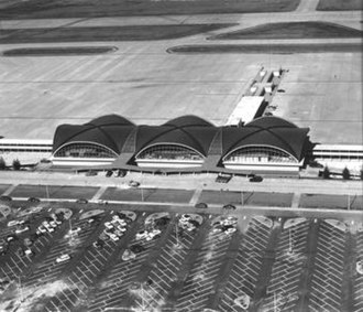St. Louis Lambert International Airport - Terminal 1 as it originally appeared