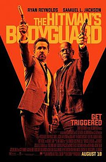 <i>The Hitmans Bodyguard</i> 2017 film directed by Patrick Hughes