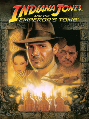 Indiana Jones and the Emperor's Tomb - Image: Indiana Jones and the Emperor's Tomb Coverart