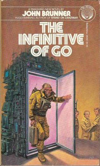 The Infinitive of Go - Mass market paperback cover.