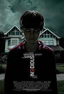 <i>Insidious</i> (film) 2010 horror film by James Wan