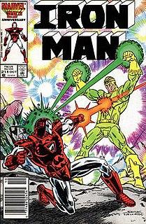 Living Laser Fictional comic book supervillain