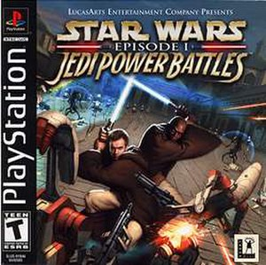 Star Wars Episode I: Jedi Power Battles - Image: Jedipowercov