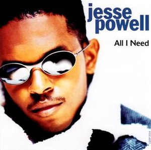 All I Need (Jesse Powell song) - Image: Jesse Powell All I Need single cover