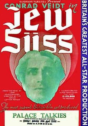 Jew Süss (1934 film) - 1934 UK cinema poster