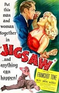<i>Jigsaw</i> (1949 film) 1949 film noir by Fletcher Markle