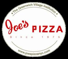 Image result for joe's pizza logo