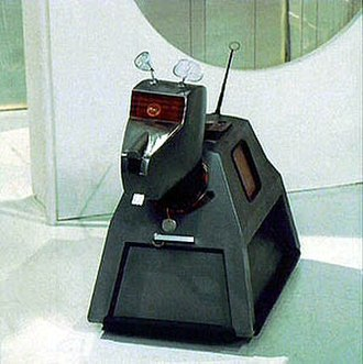 K9 (Doctor Who) - The original K9 prop from 1977