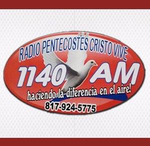 KHFX - Image: KHFX Radio Pentecostes 1140 logo