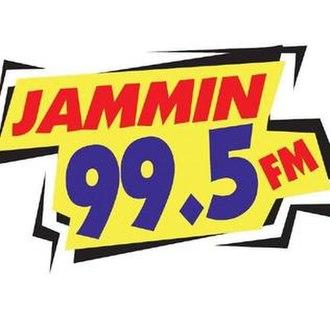 KMRJ - Image: KMRJ Jammin 99.5 logo