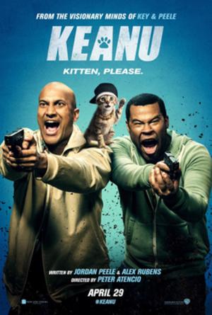 Keanu (film) - Theatrical release poster