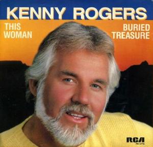 Buried Treasure (song) - Image: Kenny Rogers This Woman Buried Treasure single