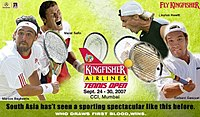 Kingfisher Airlines Tennis Open 2007 Poster.jpg