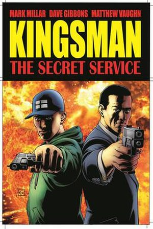 Kingsman (franchise) - Kingsman Vol. 1 The Secret Service - Collected Edition (2012) Cover art by Dave Gibbons.