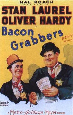 Bacon Grabbers - Theatrical poster for Bacon Grabbers (1929)