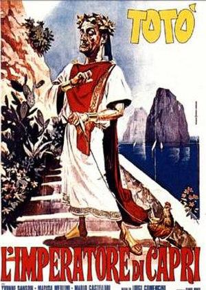 The Emperor of Capri - Theatrical release poster