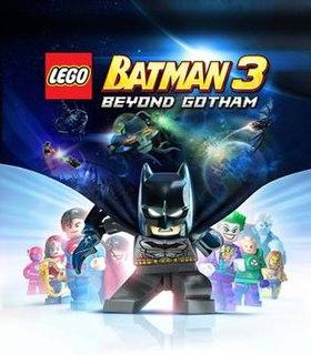 <i>Lego Batman 3: Beyond Gotham</i> 2014 video game