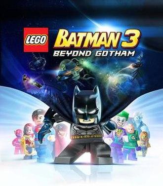 Lego Batman 3: Beyond Gotham - Cover art for Lego Batman 3: Beyond Gotham