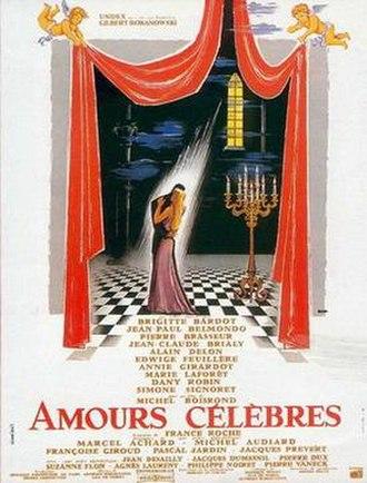 Famous Love Affairs - Image: Les amours celebres