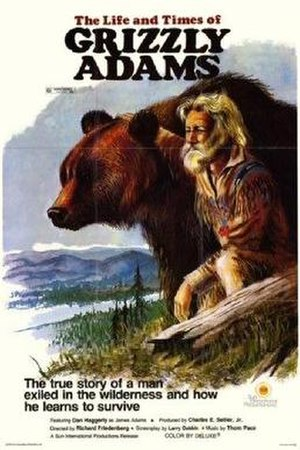 The Life and Times of Grizzly Adams - Theatrical release poster