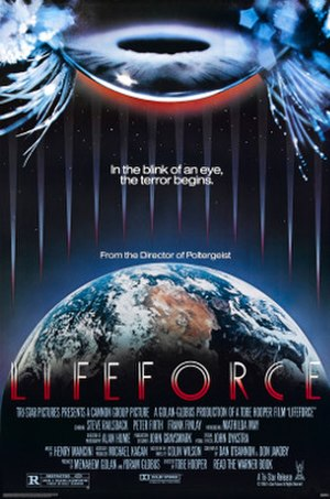 Lifeforce (film) - Theatrical release poster