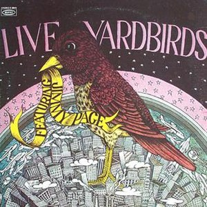 Live Yardbirds: Featuring Jimmy Page - Image: Live Yardbirdsfeat Jimmy Page