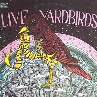 Live Yardbirds: Featuring Jimmy Page - Image: Live Yardbirdsfeat Jimmy Page