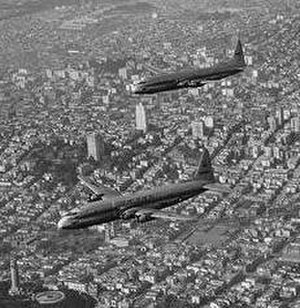 Tony LeVier - Image: Lockheed R6V Constitutions trim