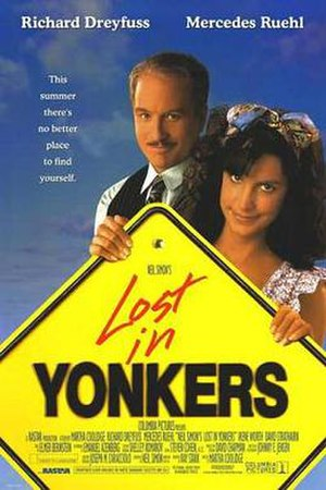 Lost in Yonkers (film) - Theatrical release poster